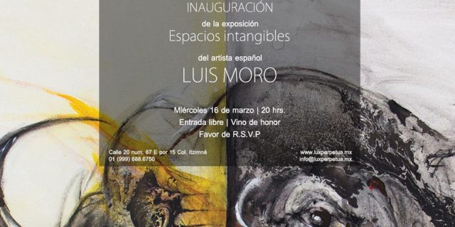 "Exhibition ""Espacios intangibles"""